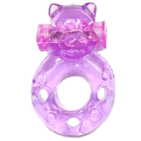 Cute Bear Vibrating Cock Ring