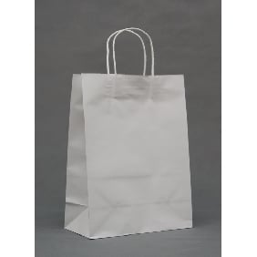 White Color Big Gift Bags ( 33cm*25cm*12cm )