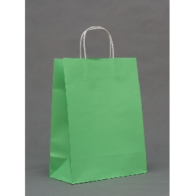 Green Color Big Gift Bags ( 33cm*25cm*12cm )