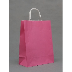 Dark Pink Color Big Gift Bags ( 33cm*25cm*12cm )