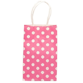 Cute Dots Small Pink Bag (21.5*13.5*8cm)