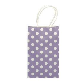 Cute Dots Small Purple Bag (21.5*13.5*8cm)