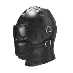 Luxury Mask Hood with Mask and Ball Gag