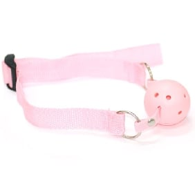 Simple Pink Ball Gag