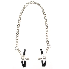 Screw Nipple Clamps with Chain