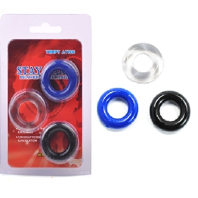 Triple Donuts Cockring Kit