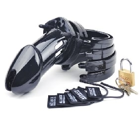 CB6000 Male Chastity Kit ( Black Color )