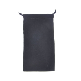 20X11 CM Black Velvet Bag