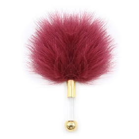 Vermilion Color Lovers Feather Tickler
