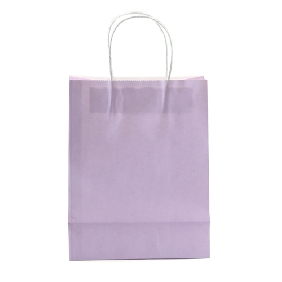 Purple Color Medium Size Gift Bags ( 20.5cm*21.5cm )
