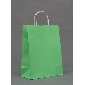 China Wholesale Green Color Big Gift Bags ( 33cm*25cm*12cm )