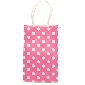 China Wholesale Cute Dots Small Pink Bag (21.5*13.5*8cm)