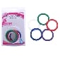 Silicone Cock Ring Kit ( 5 Rings a Pack )