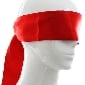 Red Color Silky Mask