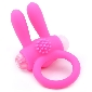 Silicone Pink Rabbit Vibrating Cock Ring