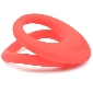 Red Color Silicone Dual Cock Rings