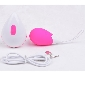 8 Speeds Pink Color Rechargeable Remote Control Vibrating Egg