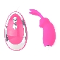 Pink Color 20 Speeds Rabbit Vibrating Egg