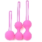 Pink Color Silicone BenWa Ball Set