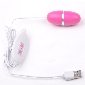 12-Speed USB Power Pink Color Vibrating Egg