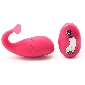 Remote Control 10-Speed Pink Color Whale Shape Rechargeable Sili