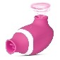 7 Speeds Pink Color Silicone Clitoral Sucking Vibrator with Vibr